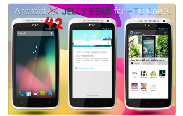 Android 4.2 AOSP HTC One X Endeavoru