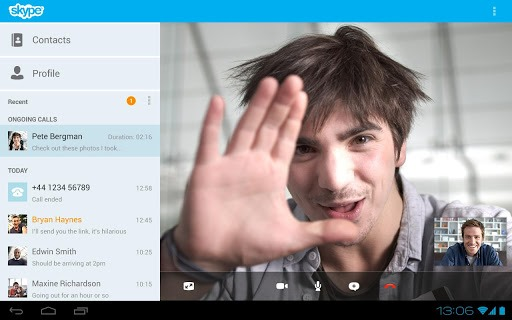 new improved skype 3 apk for nexus 10 7 tablets