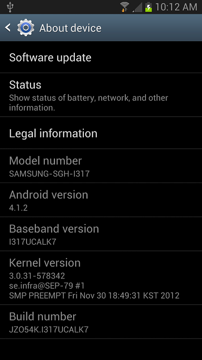 rooted I317UCALK7
