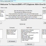 Install Recovery & Root HTC Explorer with All in One Kit v1.0
