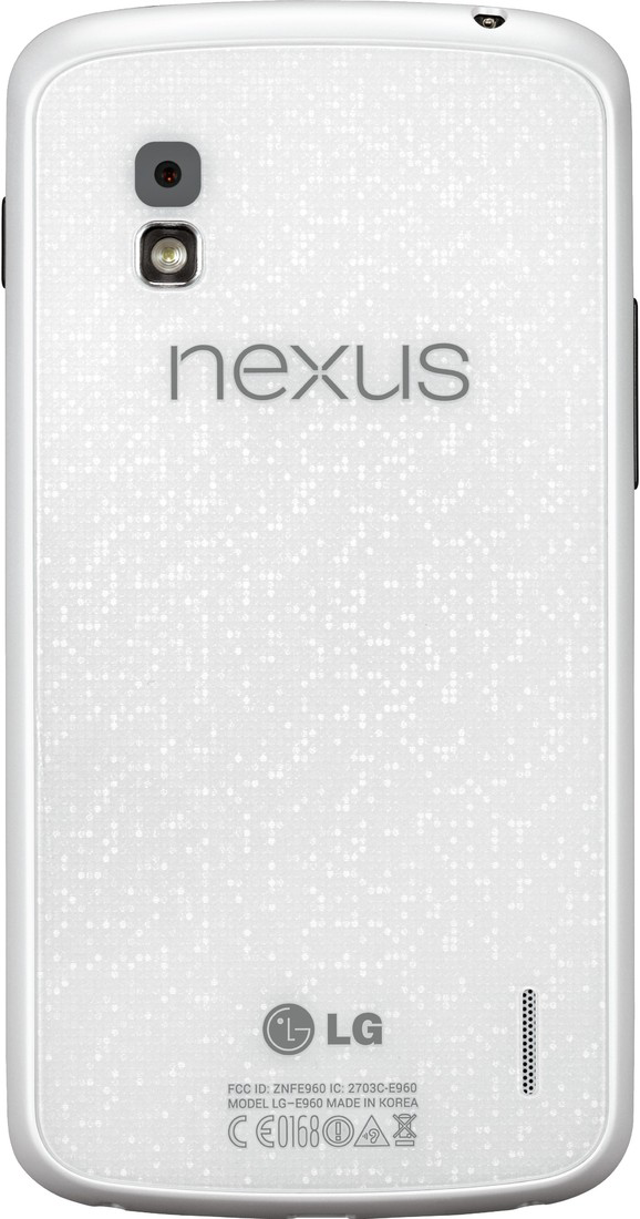 It's Official! LG's White Nexus 4 Release Date Revealed