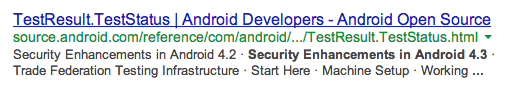 Security Enhancements in Android 4.3